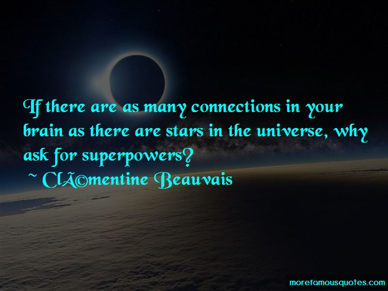 Clementine Beauvais Quotes