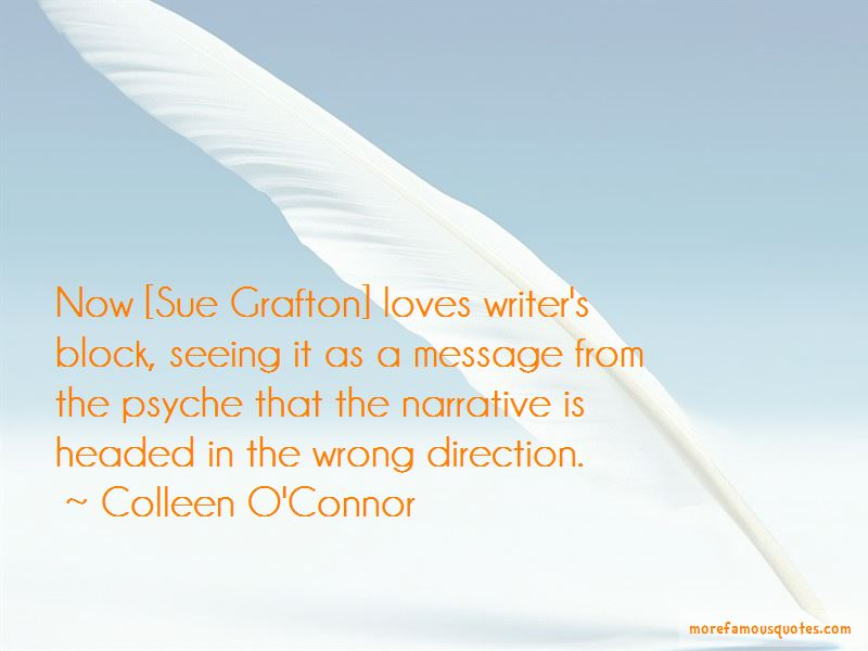 Colleen O'Connor Quotes