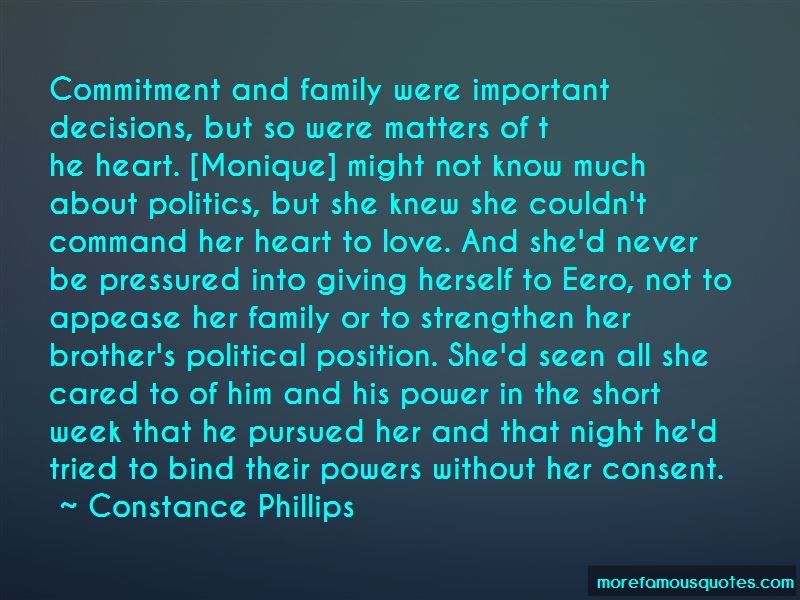 Constance Phillips Quotes
