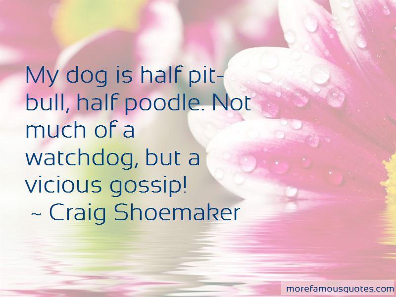 Craig Shoemaker Quotes