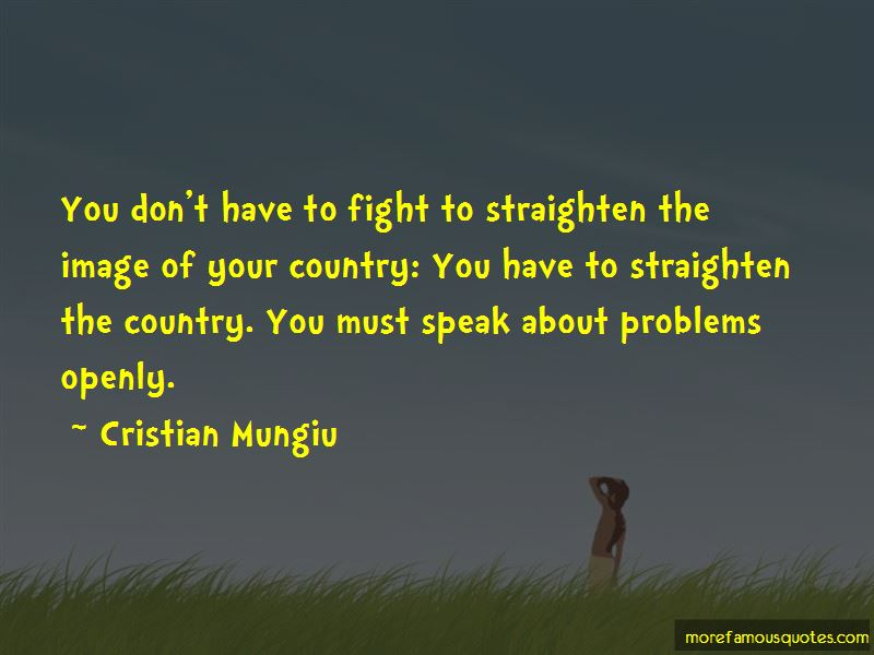 Cristian Mungiu Quotes