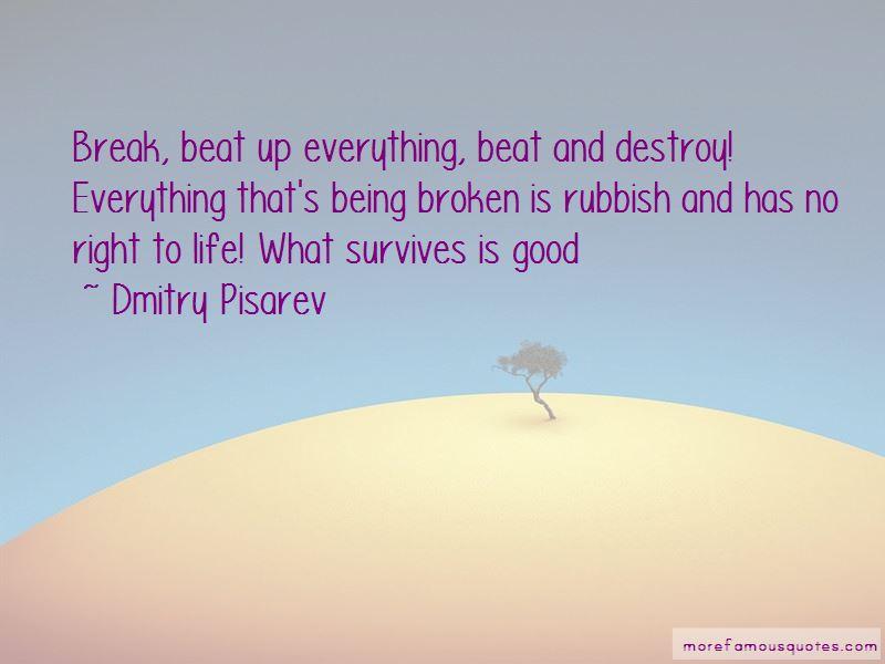 Dmitry Pisarev Quotes