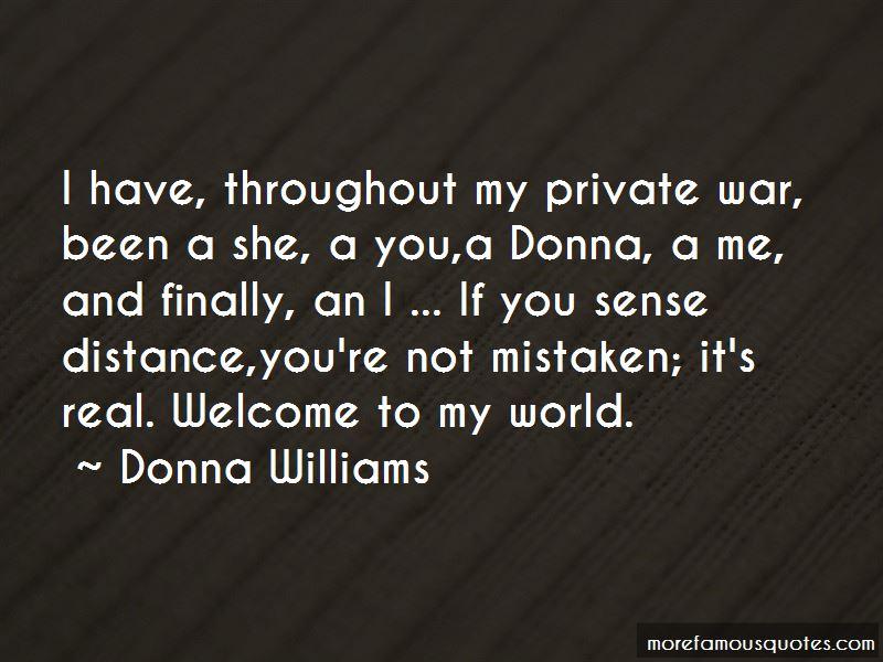 Donna Williams Quotes
