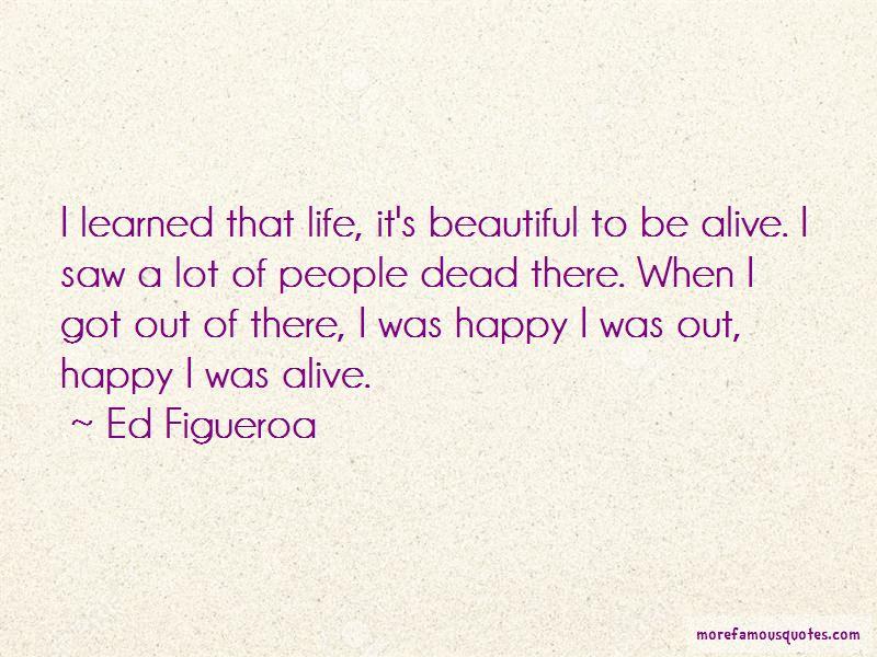 Ed Figueroa Quotes