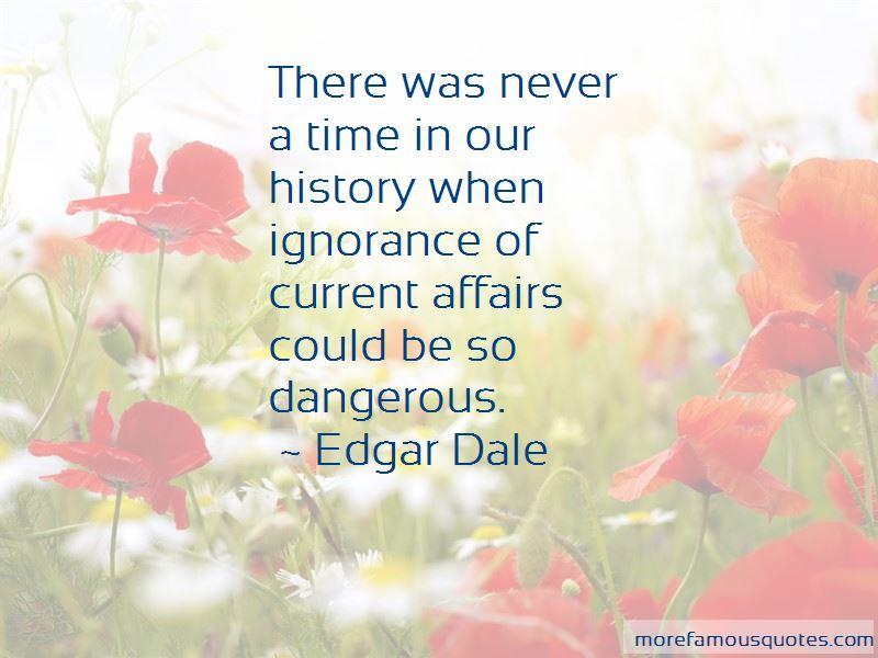 Edgar Dale Quotes