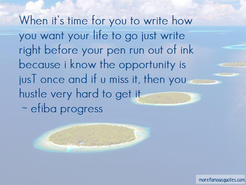 Efiba Progress Quotes