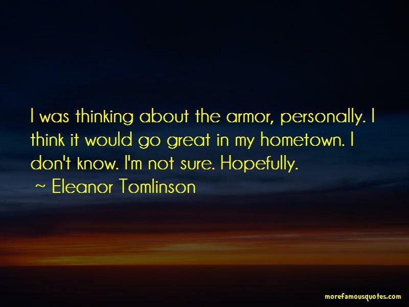 Eleanor Tomlinson Quotes Pictures 2