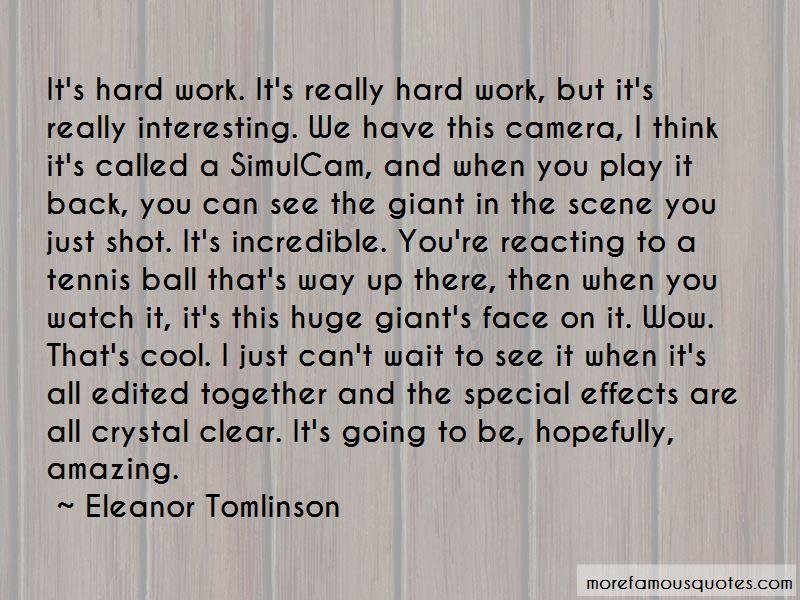 Eleanor Tomlinson Quotes