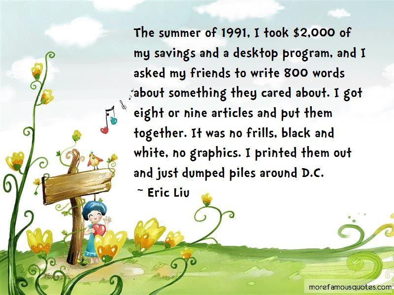 Eric Liu Quotes Pictures 3