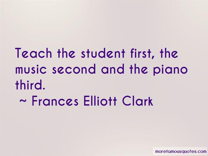 Frances Elliott Clark Quotes Pictures 2