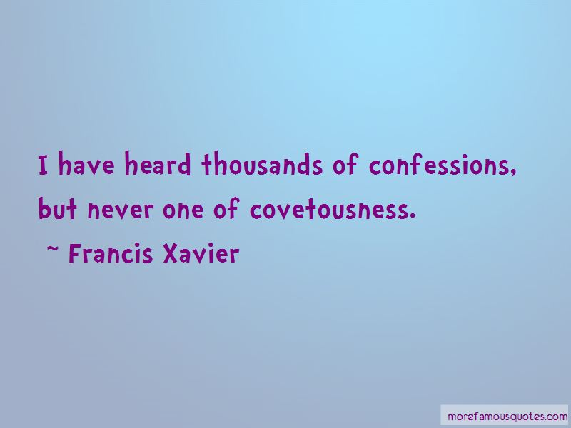 Francis Xavier Quotes Pictures 2