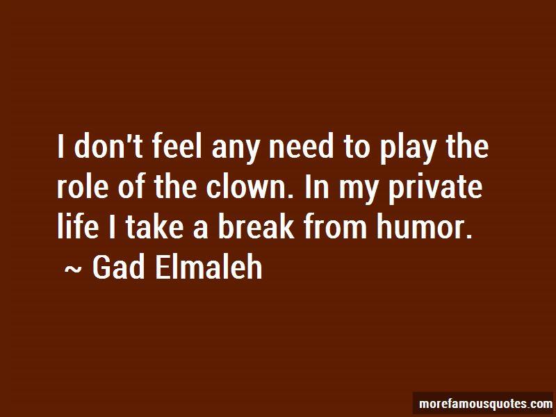 Gad Elmaleh Quotes Pictures 2