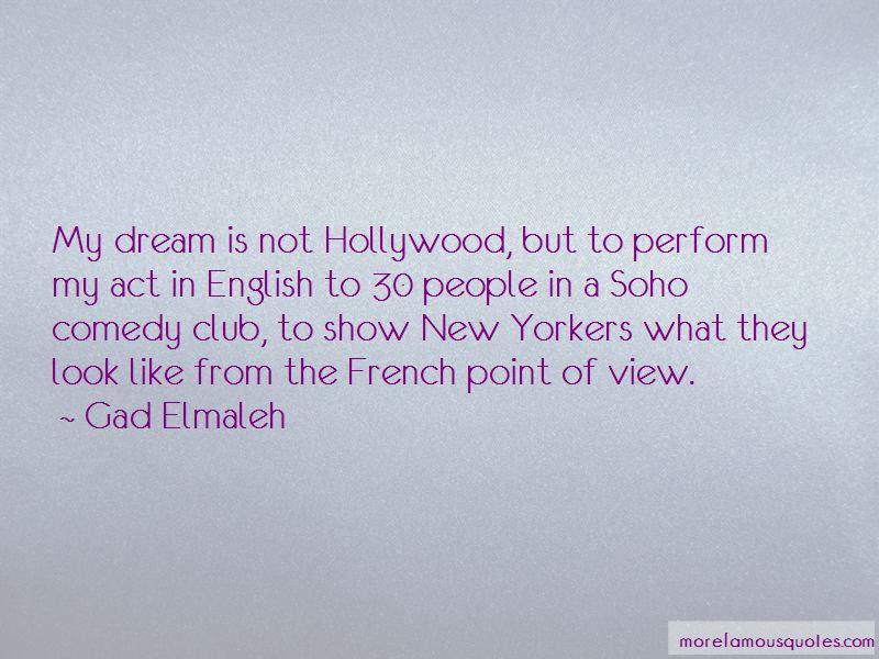 Gad Elmaleh Quotes Pictures 3