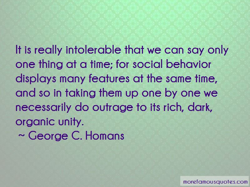George C. Homans Quotes Pictures 3
