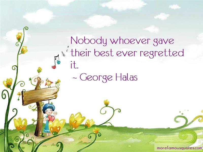 George Halas Quotes Pictures 4