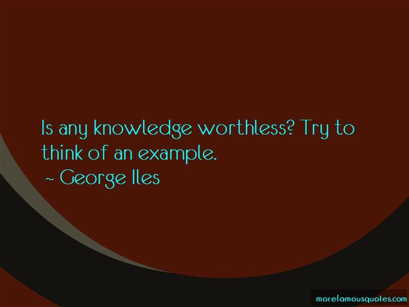 George Iles Quotes