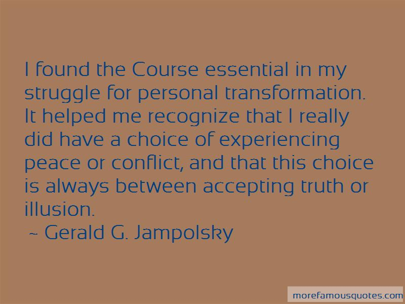 Gerald G. Jampolsky Quotes Pictures 2