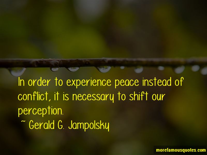 Gerald G. Jampolsky Quotes Pictures 3