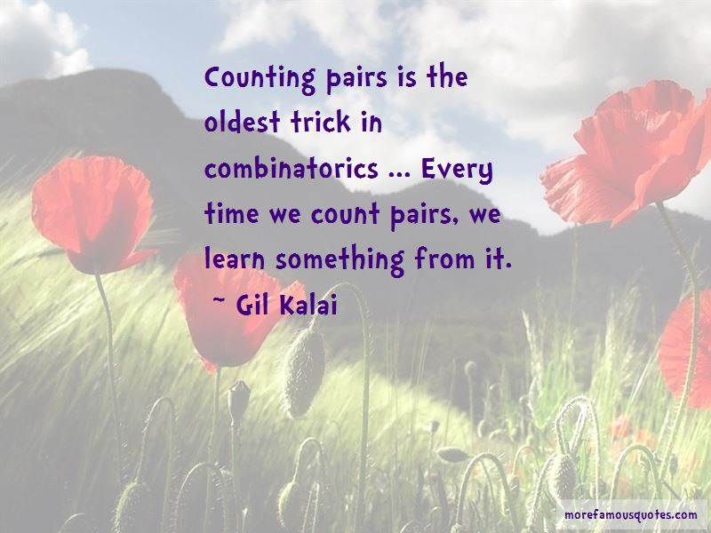 Gil Kalai Quotes Pictures 3