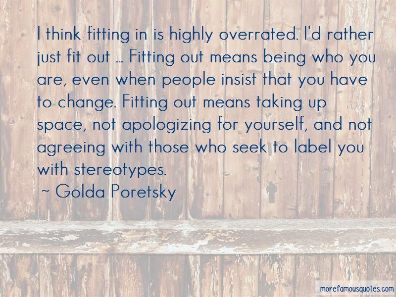 Golda Poretsky Quotes Pictures 3