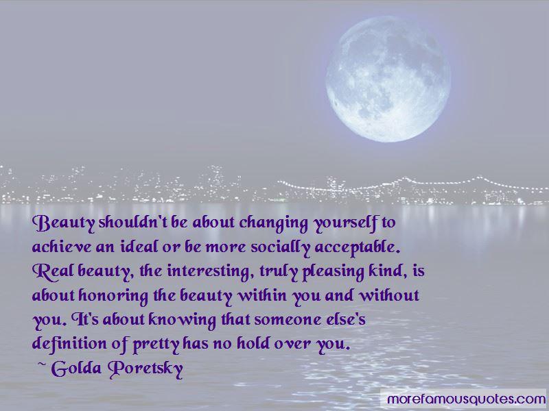 Golda Poretsky Quotes