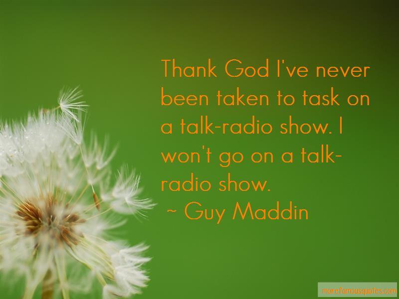 Guy Maddin Quotes