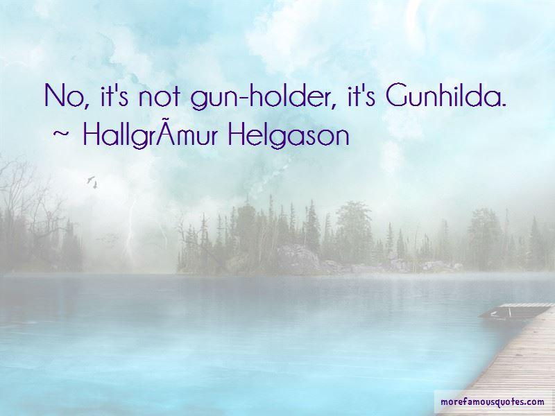 Hallgrimur-Helgason Quotes