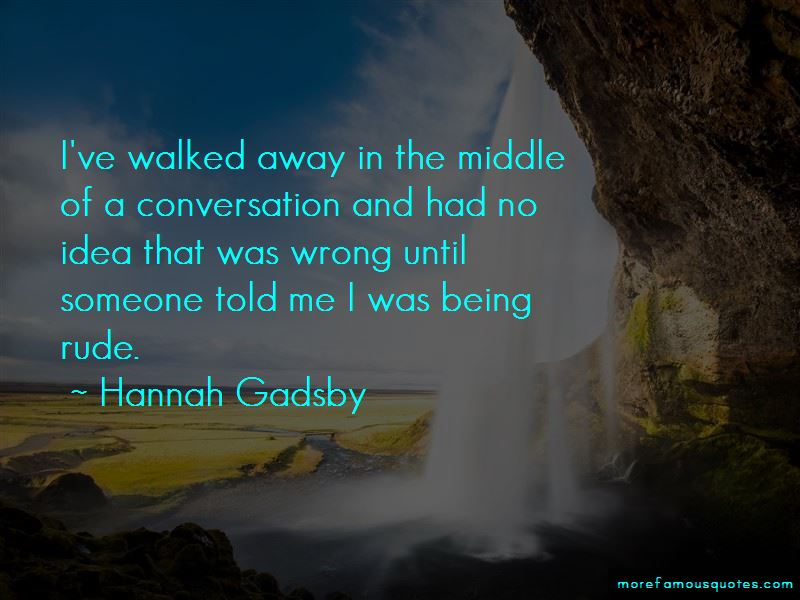 Hannah Gadsby Quotes Pictures 2