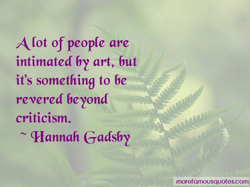 Hannah Gadsby Quotes Pictures 4