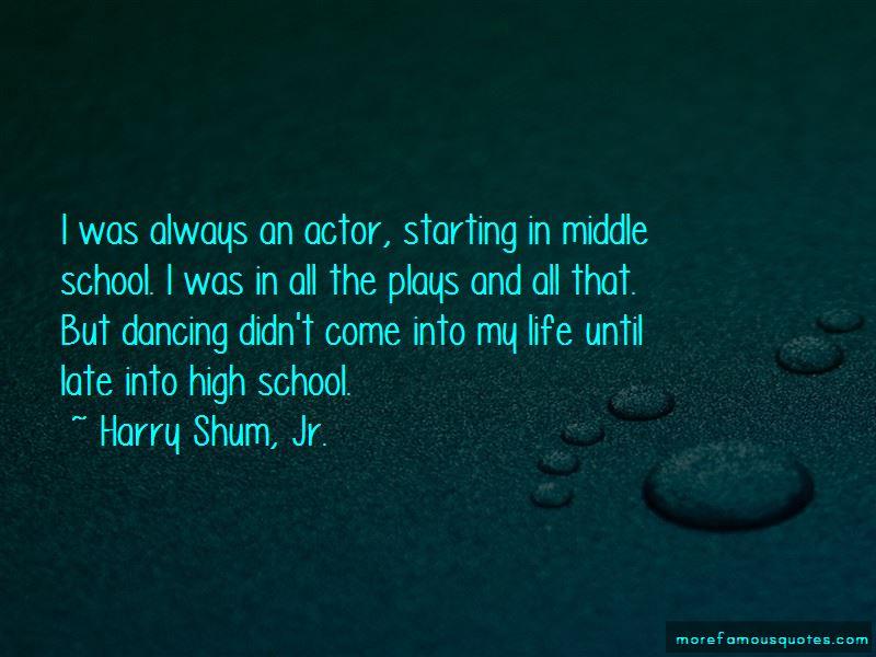 Harry Shum, Jr. Quotes