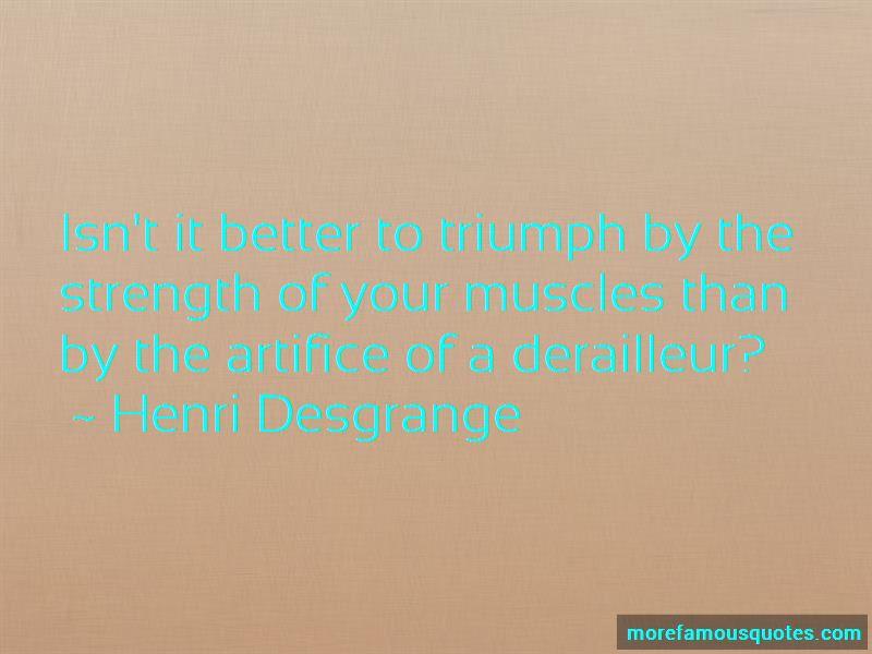 Henri Desgrange Quotes