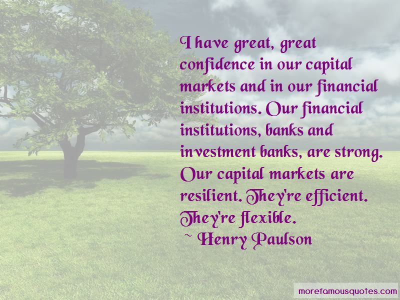 Henry Paulson Quotes Pictures 2