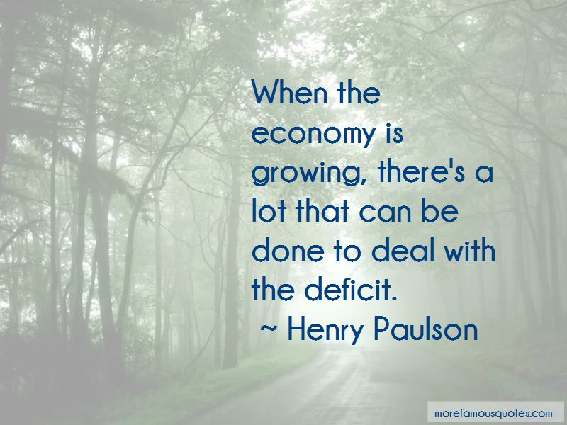 Henry Paulson Quotes Pictures 3
