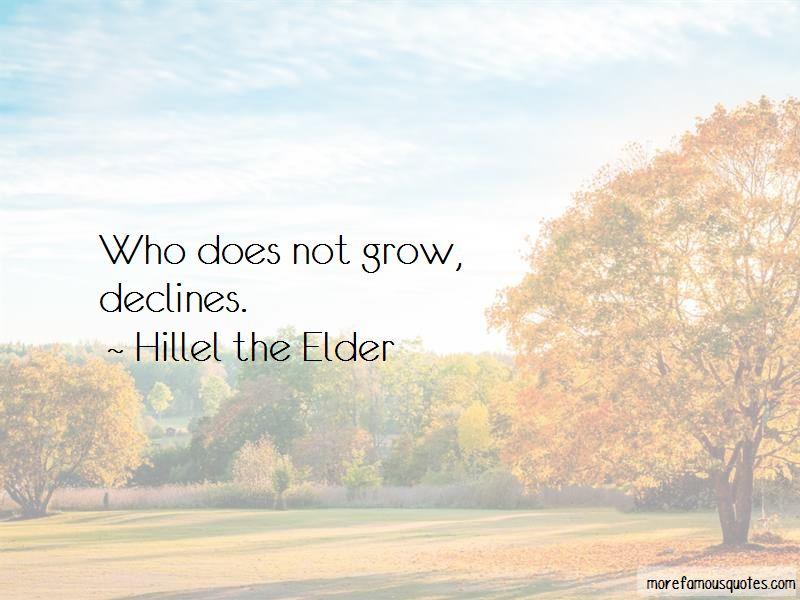 Hillel The Elder Quotes