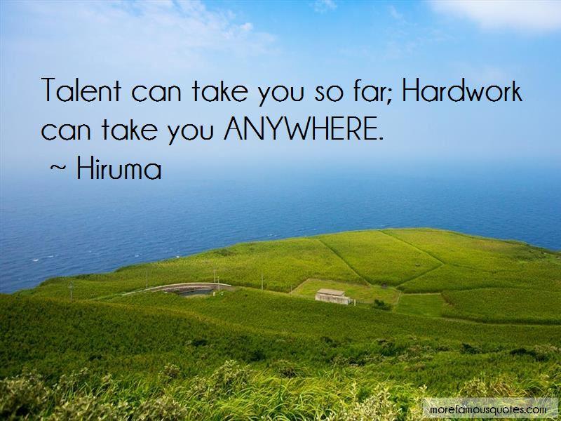 Hiruma Quotes