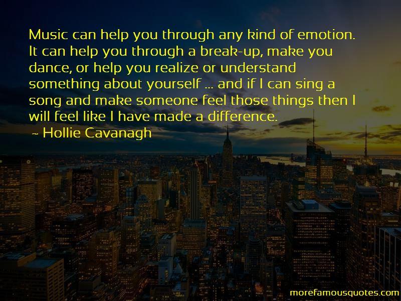 Hollie Cavanagh Quotes