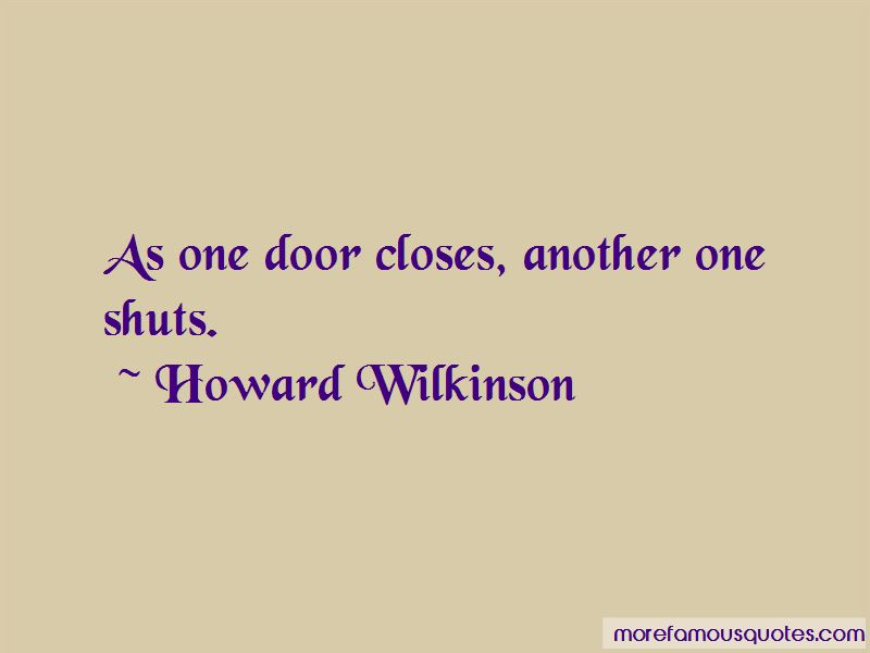Howard Wilkinson Quotes Pictures 2