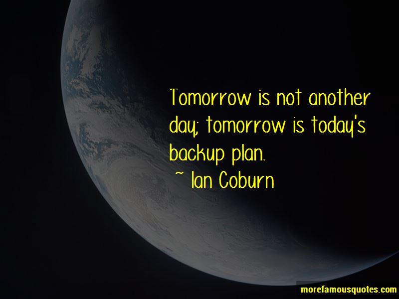 Ian Coburn Quotes