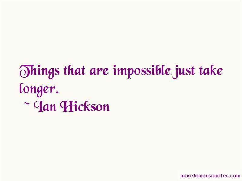 Ian Hickson Quotes
