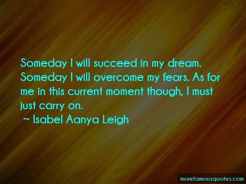 Isabel Aanya Leigh Quotes Pictures 2