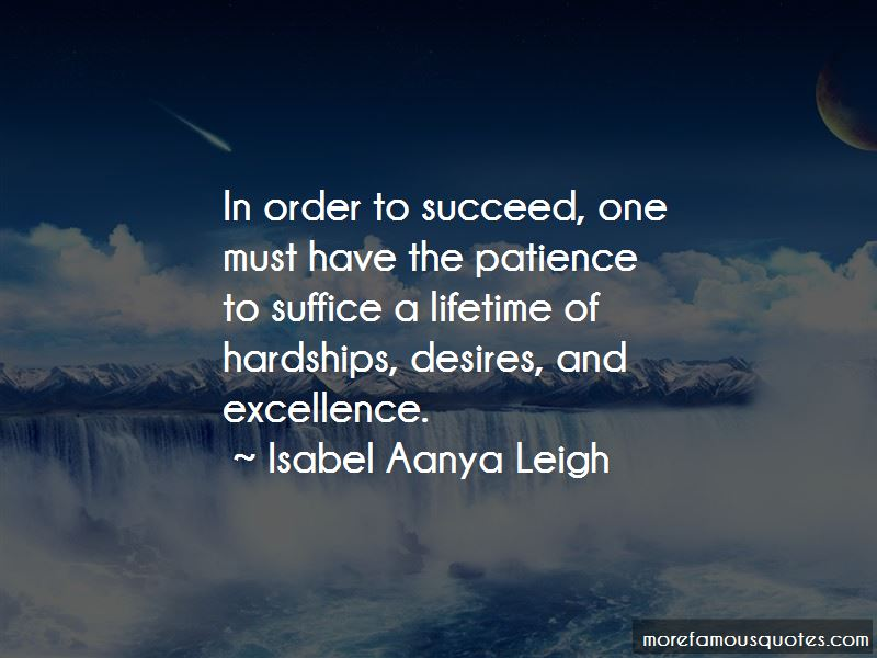 Isabel Aanya Leigh Quotes