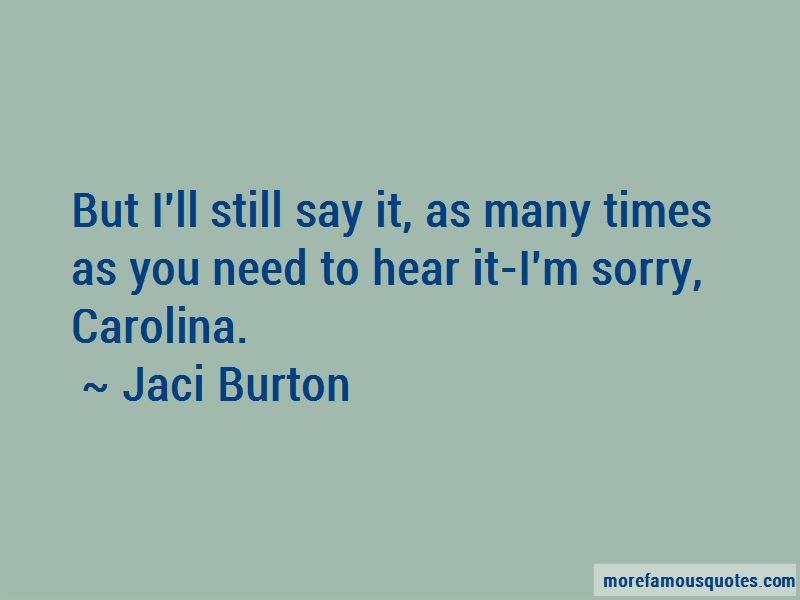 Jaci Burton Quotes Pictures 2