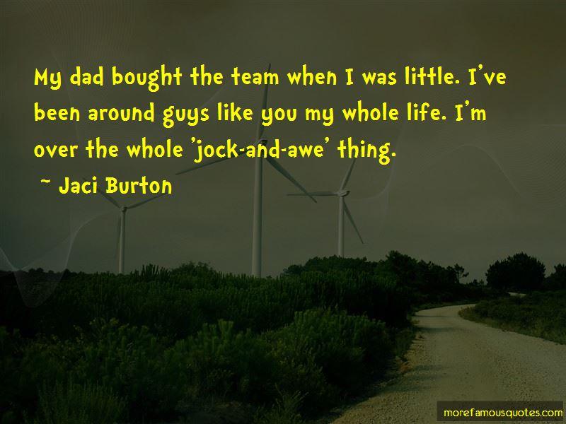 Jaci Burton Quotes