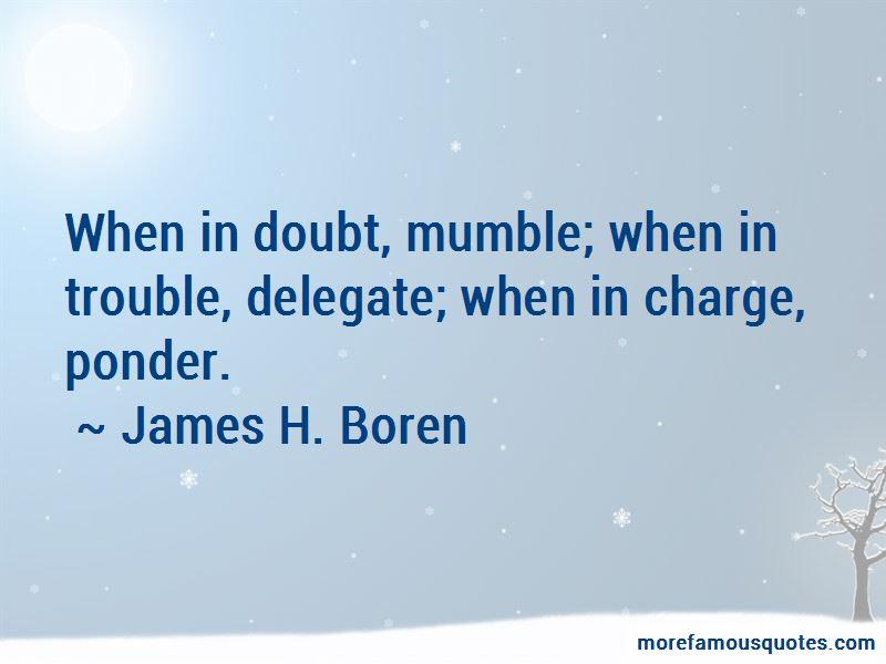 James H. Boren Quotes Pictures 4