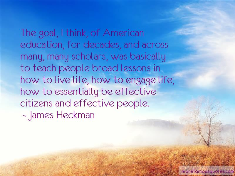 James Heckman Quotes Pictures 3
