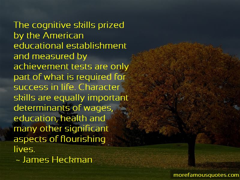 James Heckman Quotes Pictures 4