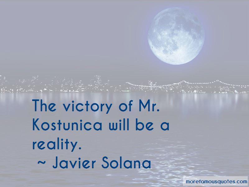 Javier Solana Quotes Pictures 2