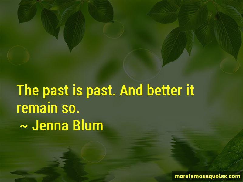 Jenna Blum Quotes