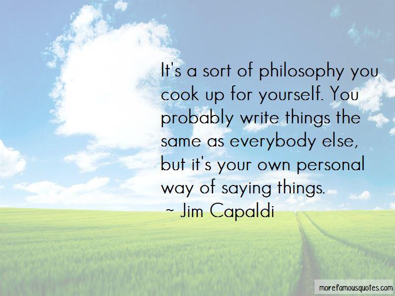 Jim Capaldi Quotes