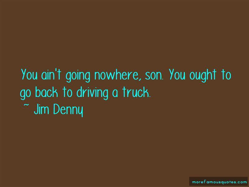 Jim Denny Quotes